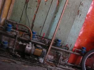Beépített elektromos szivattyú